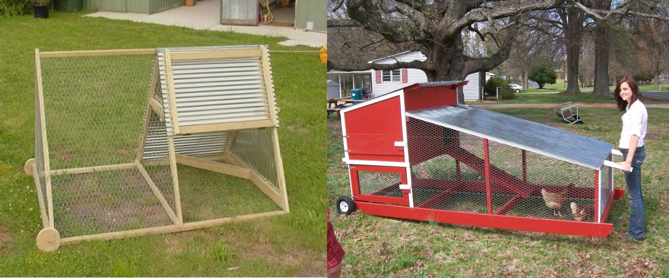 Portable chicken coop plans free pdf coop plans for How to build a movable chicken coop
